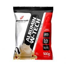Albumin W-Tech - 500g Refil Baunilha - BodyAction