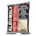 Albumina 100% Natural - 500G Refil Morango - New Millen