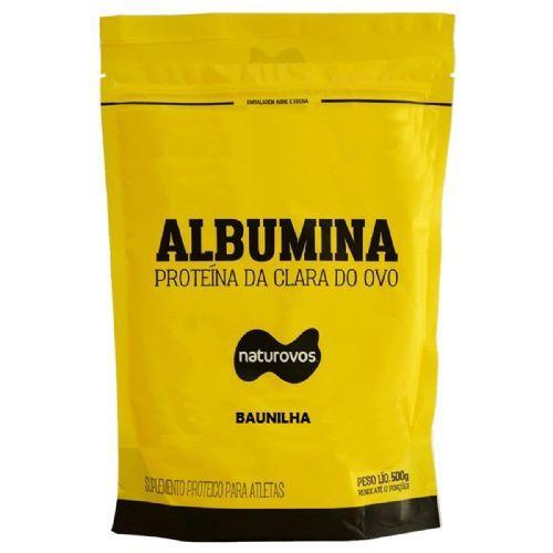 Albumina - 500g Refil Baunilha - Naturovos no Atacado