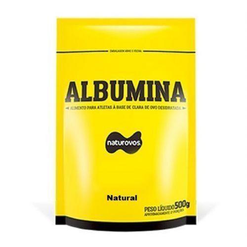 Albumina - 500g Refil Natural - Naturovos
