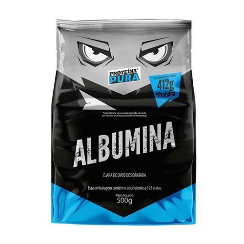Albumina - 500g Sem Sabor  - Proteína Pura no Atacado