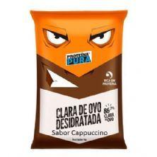 Albumina Proteína Pura Clara de Ovo Desidratada - 1kg Cappuccino - Netto Alimentos