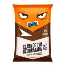 Albumina Proteína Pura Clara de Ovo Desidratada - 1kg Chocolate - Netto Alimentos