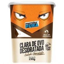 Albumina Proteína Pura Clara de Ovo Desidratada - 250g Chocolate - Netto Alimentos