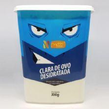 Albumina Proteína Pura Clara de Ovo Desidratada - 300g Sem Sabor - Netto Alimentos