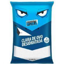 Albumina Proteína Pura Clara de Ovo Desidratada - 1kg Sem Sabor - Netto Alimentos