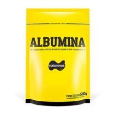 Albumina - 500g Refil Banana - Naturovos