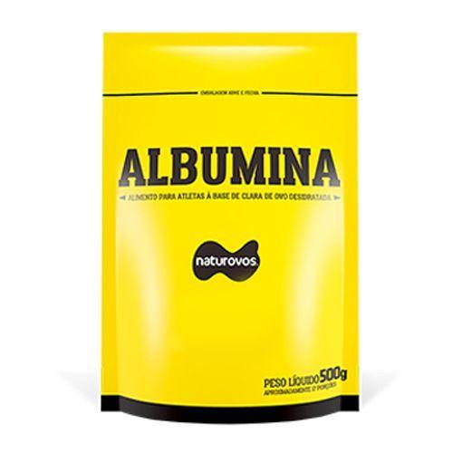 Albumina Refil - 500g Chocolate - Naturovos