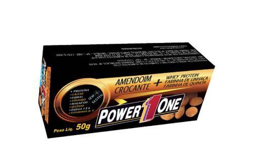 Amendoim Crocante - 1 Unidade 50g  - Power One