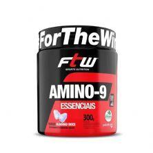 Amino-9 Essenciais - 300g Algodão Doce - FTW
