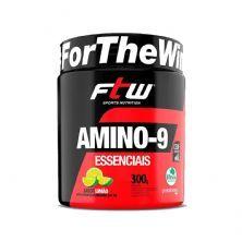 Amino-9 Essenciais - 300g Limão - FTW
