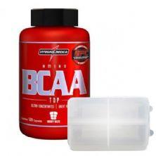 Amino BCAA TOP - 120 cápsulas + Porta cápsulas - Integralmédica