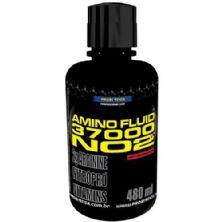 Amino Fluid 37000 NO2 - 480ml Morango - Probiótica