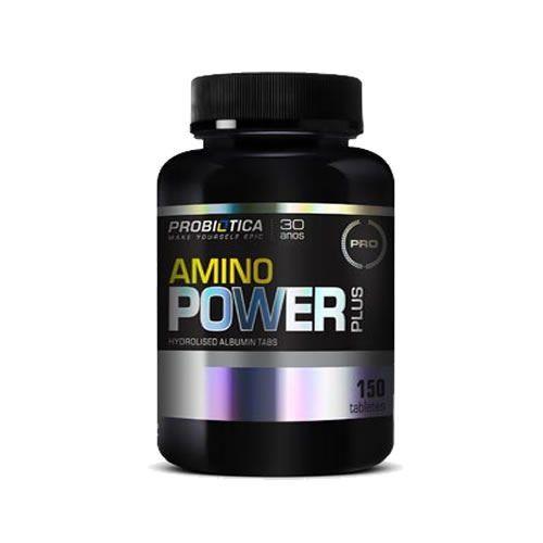 Amino Power Plus Nova Formula - 150 Tabletes - Probiótica*** Data Venc. 30/11/2017