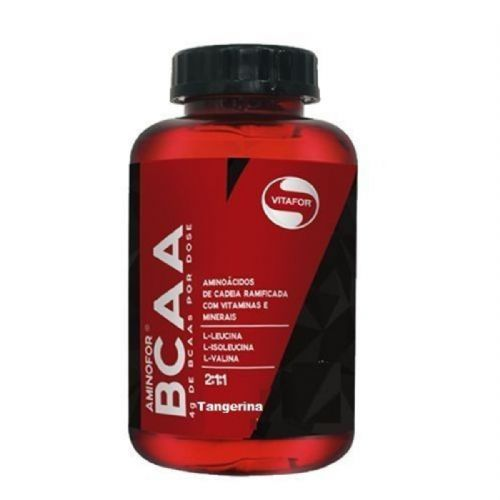 Aminofor BCAA - 120 Tabletes Tangerina - Vitafor no Atacado