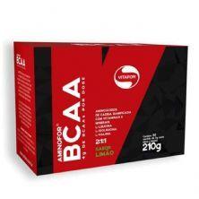 Aminofor BCAA - 30 Sachês 7g Limão - Vitafor*** Data Venc. 30/07/2020