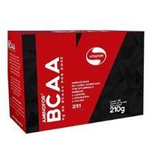 Aminofor BCAA - 30 Sachês 7g Tangerina  - Vitafor*** Data Venc. 30/03/2021