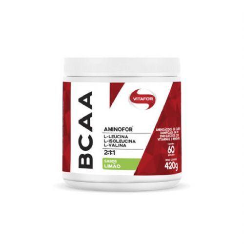 Aminofor BCAA - 420g Limão - Vitafor no Atacado