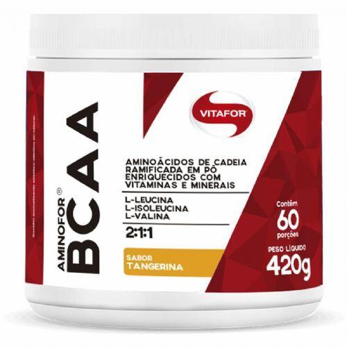 Aminofor BCAA - 420g Tangerina - Vitafor no Atacado
