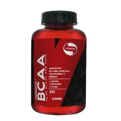 Aminofor BCAA - 60 Tabletes Limão - Vitafor no Atacado