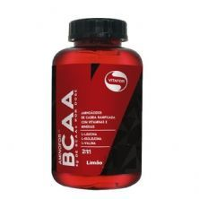 Aminofor BCAA - 60 Tabletes Limão - Vitafor*** Data Venc. 30/07/2020