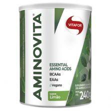 Aminovita Aminoácidos Essenciais - 240g Limao - Vitafor
