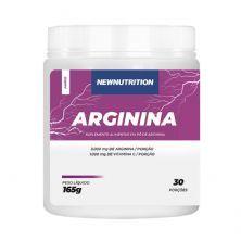 Arginina - 165g Sem Sabor - NewNutrition