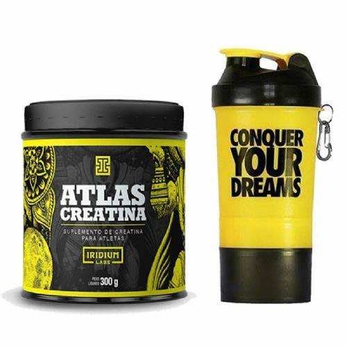 Atlas Creatina - 300g + Coqueteleira - Iridium Labs no Atacado