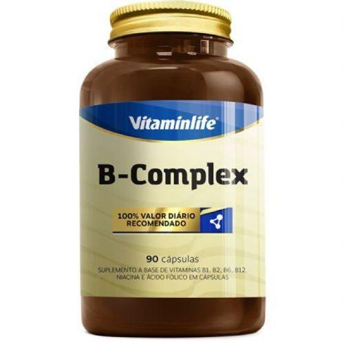 B Complex Vitaminas Complexo B - 90 Cápsulas - VitaminLife no Atacado