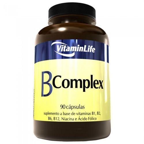 B Complex - Vitaminas Complexo B 90 cápsulas - VitaminLife