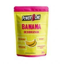 Banana Desidratada - 30g - Power One*** Data Venc. 20/12/2018