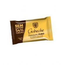 Barra Chocolate Sem Lactose 54% Cacau - 1 Unidade 12g - Gobeche