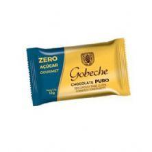 Barra Chocolate Zero Açúcar Gourmet - 1 Unidade 12g - Gobeche