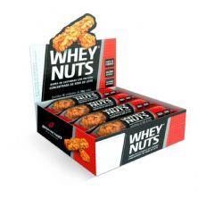 Barra de Castanhas Whey Nuts - 12 Unidades 30g - BodyAction