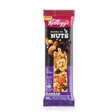 Barra de Cereais Nuts - 1 Unidade 25g Passas - Kellogg's