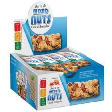 Barra de Cereal - Mixed Nuts Coco e Amêndoa 12 unidades - Agtal