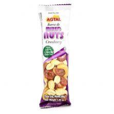 Barra de Cereal - Mixed Nuts Cranberry 1 unidades - Agtal