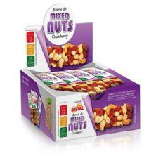 Barra de Cereal Mixed Nuts - 12 Unidades Cranberry - Agtal