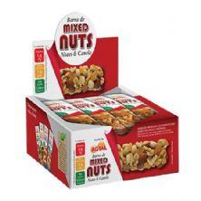 Barra de Cereal - Mixed Nuts Nozes e Canela 12 unidades - Agtal