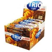 Barra de Cereal Trio Light - c/24 und Banana com Chocolate 20g - Trio Alimentos