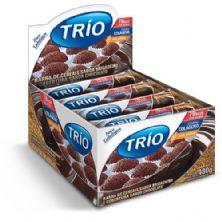 Barra de Cereal Trio Light - c/24 und Brigadeiro 20g - Trio Alimentos
