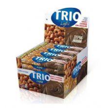 Barra de Cereal Trio Light - c/24 und Chocolate Avelã e Castanha 20g - Trio Alimentos