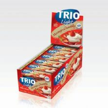 Barra de Cereal Trio Light - c/24 und Morango com Chantilly 20g - Trio Alimentos