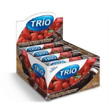 Barra de Cereal Trio Light - c/24 und Morango com Chocolate 20g - Trio Alimentos