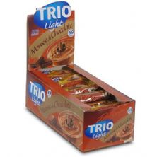 Barra de Cereal Trio Light - c/24 und Mousse Chocolate 20g - Trio Alimentos