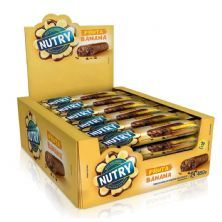 Barra de Fruta - 24 unidades 20g Banana e Chocolate - Nutry