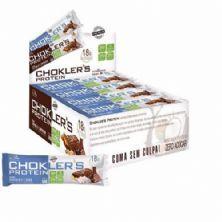 Barra de Proteína Choklers Protein - 12 unidades 60g Coco e Brigadeiro - Mix Nutri