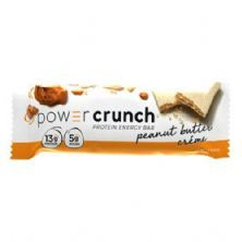 Barra de Proteina Power Crunch - 1 unidade Creme de Amendoim - BNRG*** Data Venc. 28/08/2019