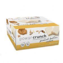 Barra de Proteina Power Crunch - 12 Unidades Creme de Amendoim - BNRG