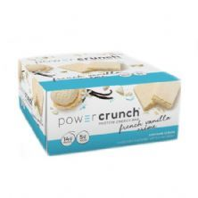 Barra de Proteina Power Crunch - 12 Unidades French Vanilla Creme - BNRG